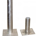 Anchor points (1.0; 0.5KN)