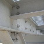 Detail of composite pier construction