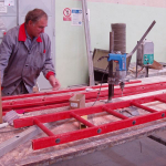 Production of composite ladders