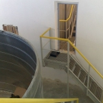 Composite staircases