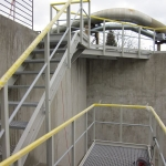 FRP footbridges and staircase