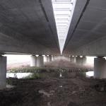 D11 bridge Žíželice - bridge gap cover