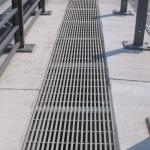 D11 bridge Žíželice - bridge gap cover - composite gratings PREFAPOR