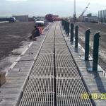 D8 bridge Trmice - bridge gap cover