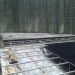 Dukovany nuclear power station - cooling tower - reconstruction of eliminator frames