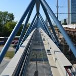 Brno, utility bridge near the main train station - cable boxex - order volume: 1,500 m