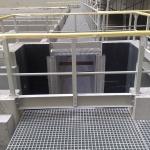 Power station Počerady - composite gratings and railings