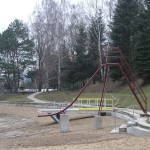 Blansko, composite pier