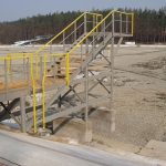 Ostrava Poruba - whole-composite construction of springboard