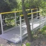 Štěpánovice - new composite footbridge