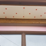 GRP profiles for fixing and covering external blinds