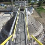 WWTP Sereď, Slovakia - GRP footbridge