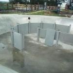 WWTP Kynžvart - all-composite inlet scumboard