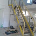 WWTP Leopoldov - allcomposite staircase