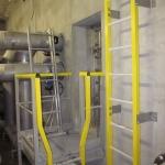 WWTP Zaječí - composite ladders