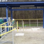 WWTP Rychnov u Jablonce n. Nisou - FRP top handles over the cover