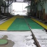 Dukovany nuclear power plant depot - load-bearing gratings PREFAGRID