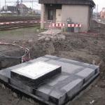 Station Český Těšín - load-bearing covers PREFAPLATE