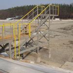 Composite construction of springboard