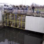 Rainwater sedimentation tank