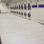 Non-conductive floor - transformer station