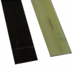 Lamellas reinforced with carbon and glass fibers