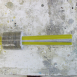 Composite rod with wedge clamp