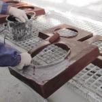 Výroba krycí hlavy komína metodou ručního laminování