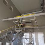 Diamo Stráž pod Ralskem - kompozitní schodiště s atypickým zábradlím