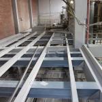 Mondi Štětí - kompozitní nosná konstrukce plošiny