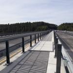 D1 - Soutice - Loket - zakrytí zrcadla mostu kompozitními plnými kryty PREFAPLATE