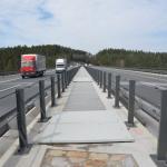 D1 - Soutice - Loket - zakrytí zrcadla mostu kompozitními skládanými rošty PREFAPOR a plnými kryty PREFAPLATE