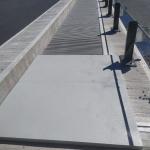 D6 - Nové Strašecí - Řevničov - zakrytí zrcadla mostu