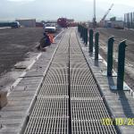 D8 most Trmice - kompozitní zakrytí zrcadla