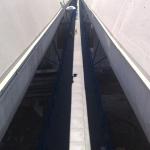 Silniční okruh kolem Prahy - kompozitní stěnové úhelníky pro uložení roštů na zakrytí zrcadla