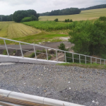 I/58 Příbor - Skotnice - kompozitní zábradlí na křídle mostu