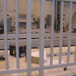 Starobělský potok - kompozitní zábradlí se svislými výplněmi, výroba