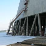 JE Dukovany, chladící věž - rekonstrukce eliminátorů