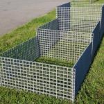 PREFAKOM Komplet - systém přenosného kompozitního kompostéru