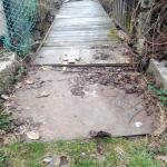 Štěpánovice - obnovení lávky přes náhon