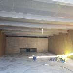 Sedimentační nádrž Nová Ves - podhled kompozitního zakrytí nádrže