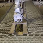 ÚV Znojmo - kompozitní rošty PREFAGRID na obslužné lávce
