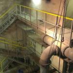 Vodojem Lhota u Vyškova - výstavba kompozitních lávek a schodiště