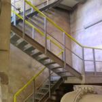 Vodojem Lhota u Vyškova - celokompozitní schodiště