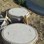 ČOV Leopoldov - kompozitní kruhové poklopy