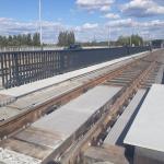 Ostrava - tramvajová trať Nová Ves - Zahrádky - kompozitní zakrytí