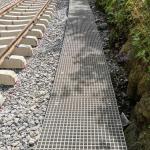 Ledeč n. S., Podhradský tunel - kompozitní lité rošty PREFAGRID 30x30x38