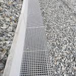 Ledeč n. S., Podhradský tunel - zakrytí odvodňovacích žlabů litými rošty PREFAGRID