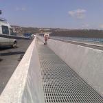Zakrytí zrcadla mostu – most přes údolí Vltavy a Berounky