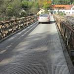 Pojízdné rošty PREFAGRID na mostu ve Čtyřkolech